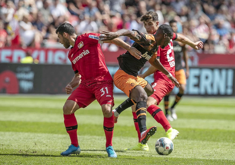 04.08.2019: B. Leverkusen 1 - 2 Valencia CF