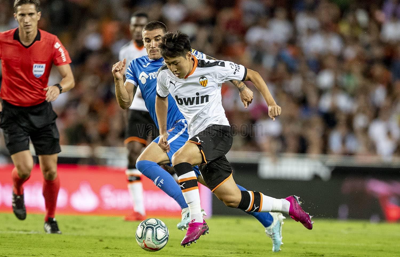 25.09.2019: Valencia CF 3 - 3 Getafe CF