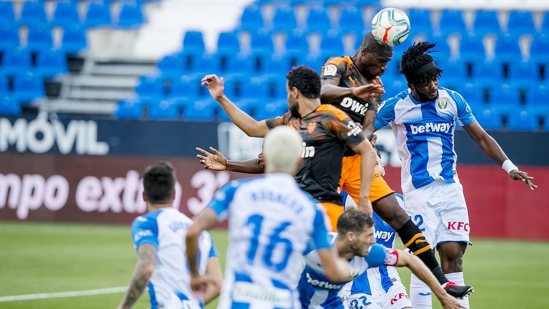 12.07.2020: CD Leganés 1 - 0 Valencia CF