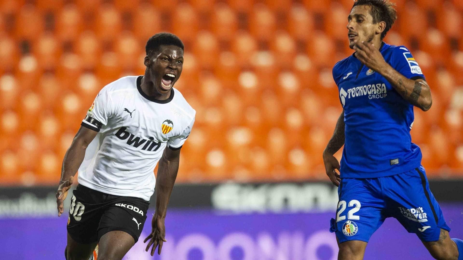 01.11.2020: Valencia CF 2 - 2 Getafe CF