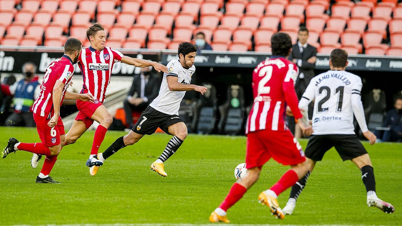 28.11.2020: Valencia CF 0 - 1 At. Madrid