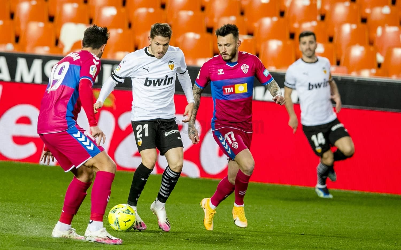 30.01.2021: Valencia CF 1 - 0 Elche CF
