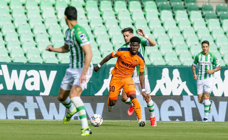 18.04.2021: Real Betis 2 - 2 Valencia CF