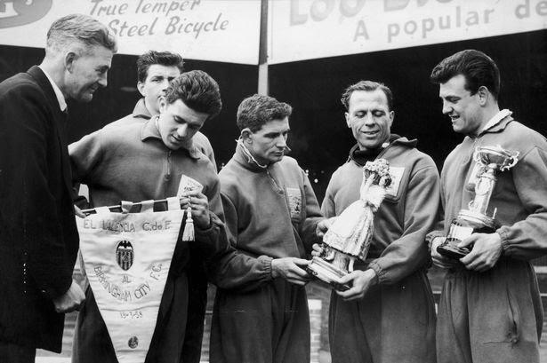 19.03.1958: Valencia CF 3 - 0 Birmingham C.